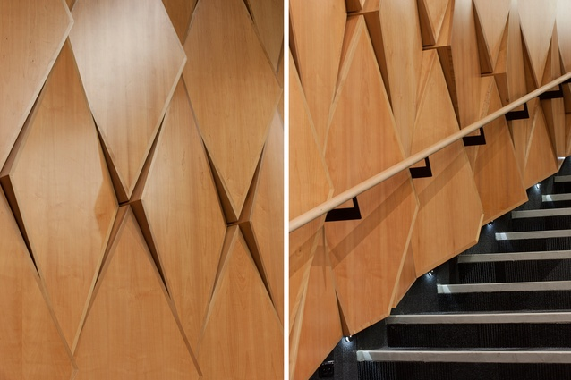 Acoustic Southland Maple Wall Panels By Woodform Design