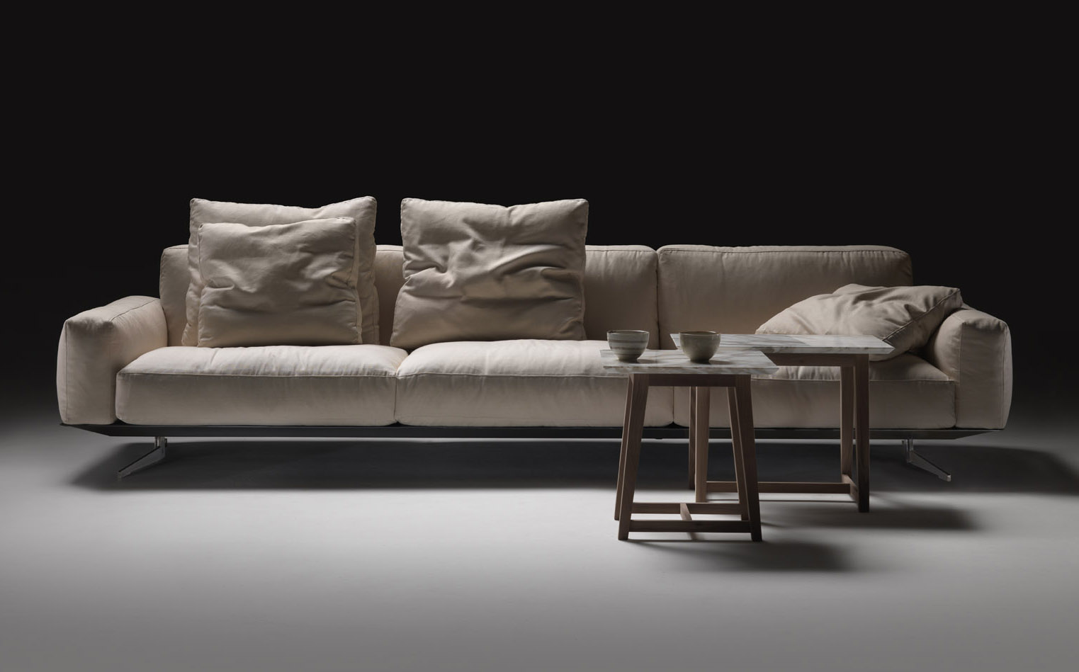 soft dream sofa by studio italia selector. Black Bedroom Furniture Sets. Home Design Ideas