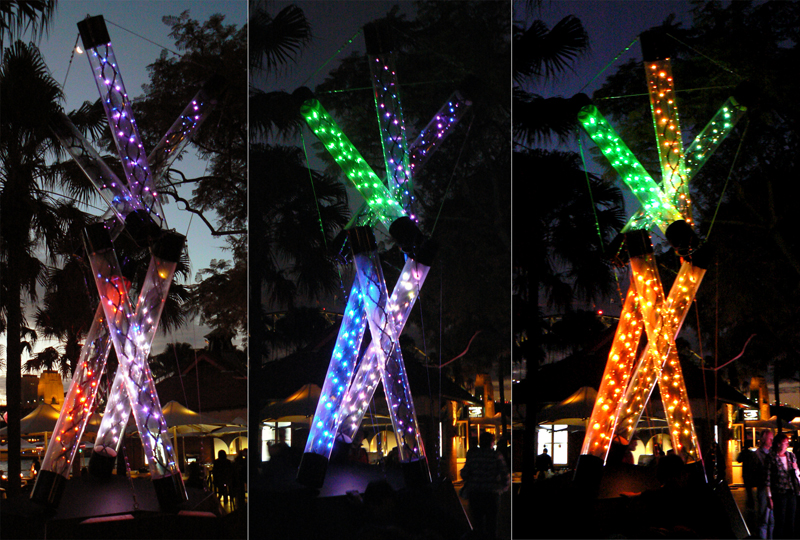 tensile brings structures to life at vivid sydney 2012 selector
