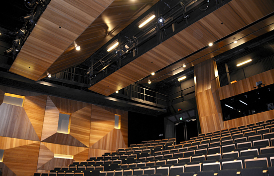Bespoke Acoustic Timber Veneer Panels For Walls And