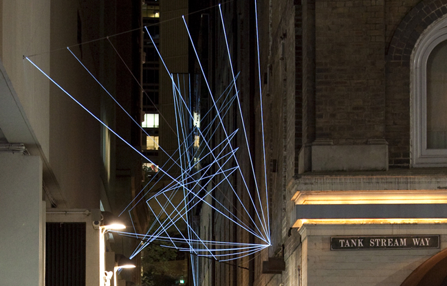 Catenary Lighting At Abercrombie Lane Art Amp About 2012