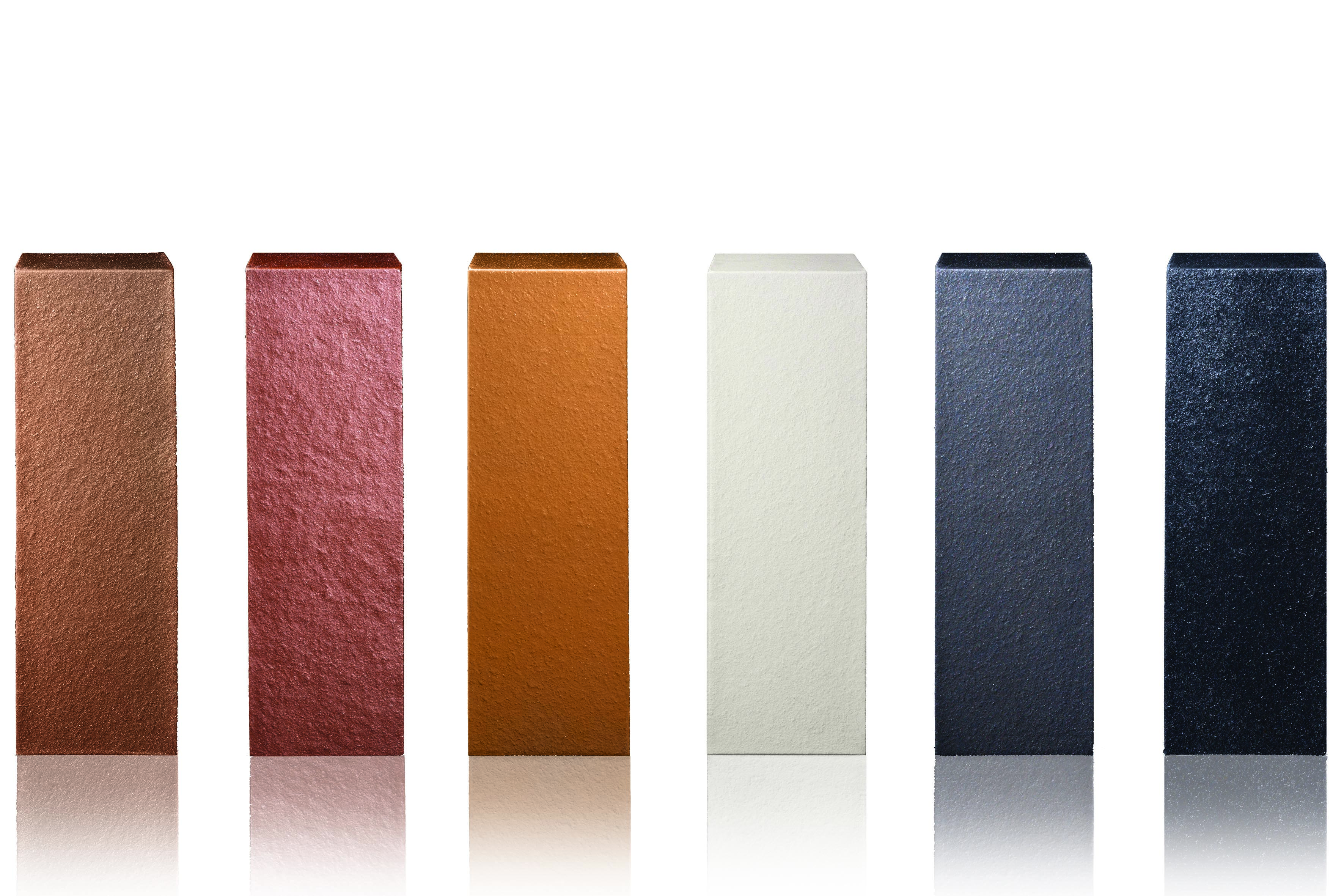 Lighting Basement Washroom Stairs: New 'Allure' Range Of Sumptuous Metallic Bricks