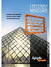 A new  dimension in louvre windows