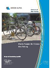 Arrow Alpha bike parking brochure