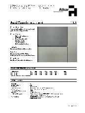 Au diTouch Data Sheet