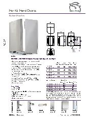 BC 2001 BC2001B Dolphin Velocity high speed hand dryer brochure