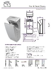 BC 2011 Dolphin Velocity hand dryer brochure