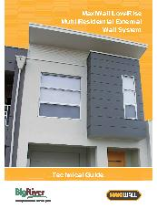 MaxiWall Low-Rise Residential External Technical Guide