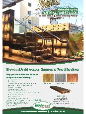 Biowood Architectural Composite Wood Decking
