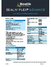 Expansion joint sealant – Seal 'N' Flex Advance by Bostik