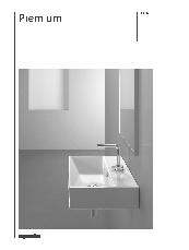 Catalano Premium basin brochure
