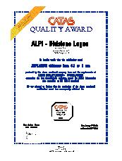 Catas Quality Award