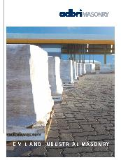 Civil and Industrial Masonry Brochure