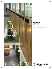 Décortech Hoop pine wall and ceiling panels technical specification sheet