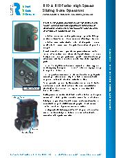 D10 & D10 Turbo Sliding Gate Operators Brochure