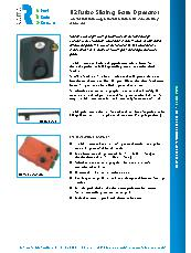 D2 Turbo Sliding Gate Operator Brochure