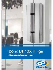 Doric DH40X Adjustable Architectural Hinge