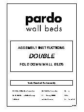 Double Fold Down Wall Beds Instructions 2013