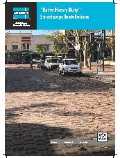 LATICRETE Tile, Brick and Stone Streetscapes Brochure