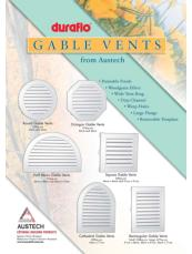 Duraflo gable vents – flyer