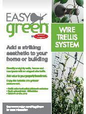 Easy Green Wire Trellis System by Ronstan Brochure