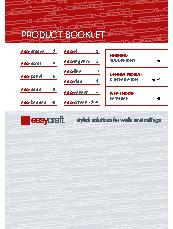 Easycraft General Product Booklet