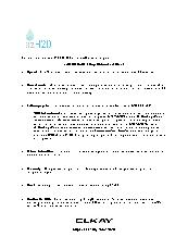 ezH2O Fact Sheet