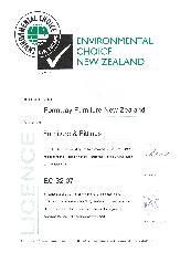 Formway Life Chair GECA and ECNZ certificates
