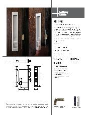 HB 1490 sliding door privacy set series brochure