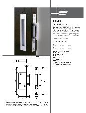 HB 680 push-button edge pull brochure