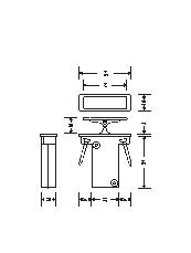 HB 682 End pull line drawing