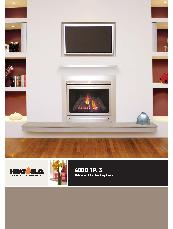 Heat & Glo 6000 TRS balanced flue gas log fires brochure
