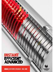 HEATRAY infrared radiant heating – electric