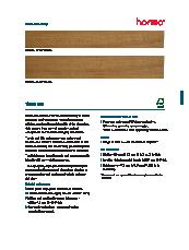 Horiso Timber Slats