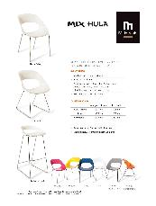 Hula chair specification sheet