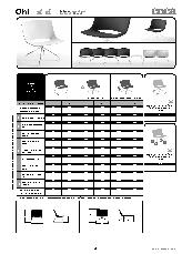 Enea Oh Chair Specification Sheet