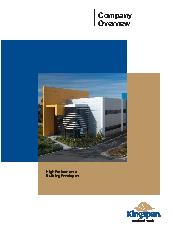 Kingspan company overview