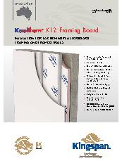 Kingspan Kooltherm® K12 fFraming Board Brochure