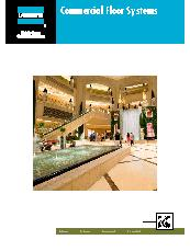 LATICRETE Commercial Floor System Brochure