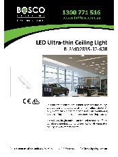 LED Ultra-thin Ceiling Light BLSMD2835-12-60R