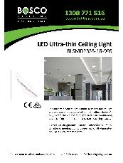 LED Ultra-thin Ceiling Light BLSMD2835-18-90S