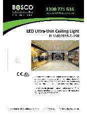 LED Ultra-thin Ceiling Light BLSMD2835-3-15R