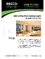 LED Ultra-thin Ceiling Light BLSMD2835-6-30S