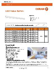 LEDValue Batten Datasheet