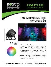 LED Wall Washer Light BLSTAGE200-RGB