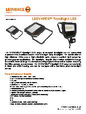 LEDVANCE Floodlight Std. Datasheet