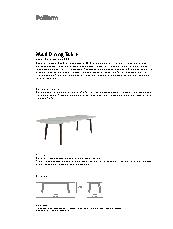 Mad Dining Table