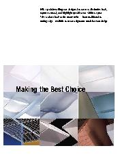 'Making the best choice' brochure