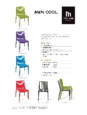 Mix Cool chair specification sheet