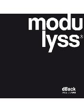 Modulyss dBack Acoustic Backing Brochure